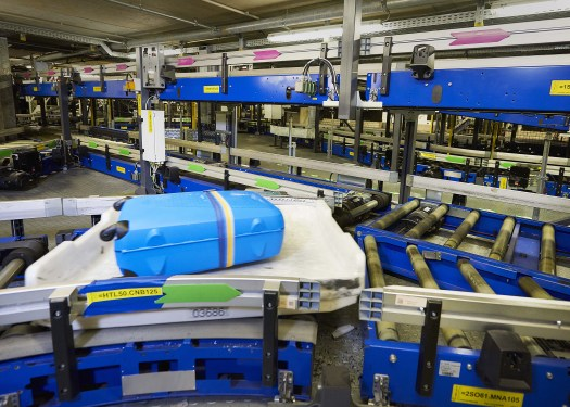 BEUMER Group highlights CrisBag baggage handling system at Inter Airport SEA 2017