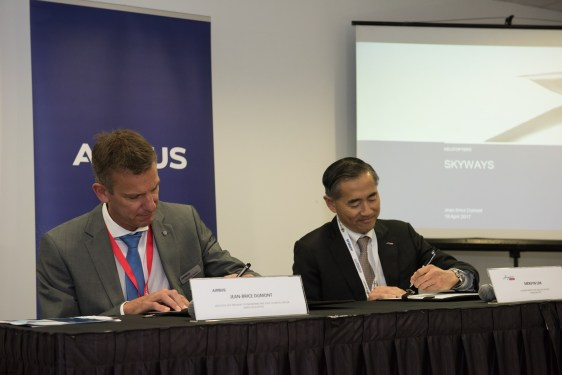 Airbus selects SingPost as Skyways logistics partners