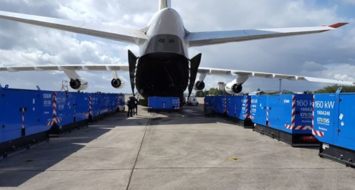 Antonov Airlines flies emergency relief to Guadeloupe