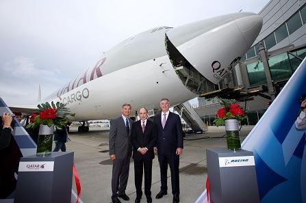 Qatar Airways receives 747-8 freighter