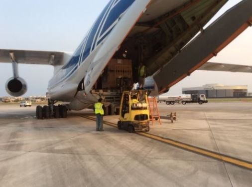 Volga-Dnepr joins Irma relief efforts