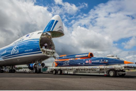CargoLogicAir is the official cargo airline partner of Bloodhound SSC