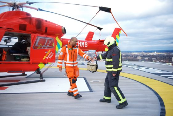 Pre-hospital blood protection provided to air ambulances by Pelican BioThermal