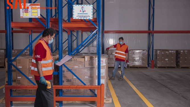 SAL launches its pharma facilities at KFIA Cargo Village with operational capacity of 14,000 tons a year
