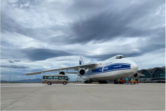 Volga-Dnepr delivers equipment for Vietnamese solar power plant
