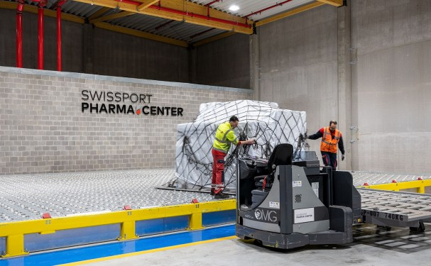 Swissport rolls out own quality label for its pharma facilities