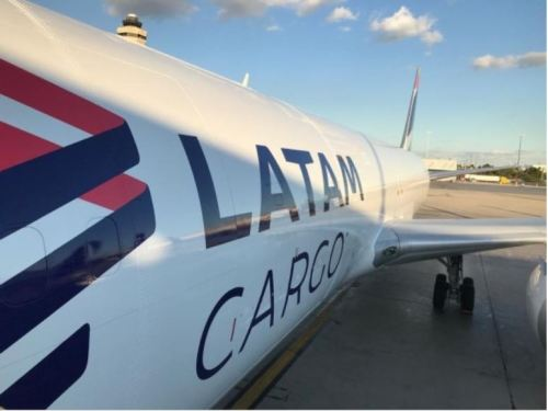 LATAM Cargo now has 12 routes from Miami to Brazil