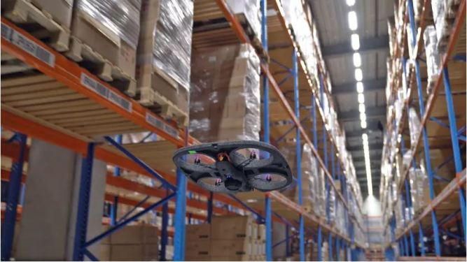 DSV tests drone system to improve warehouse operations