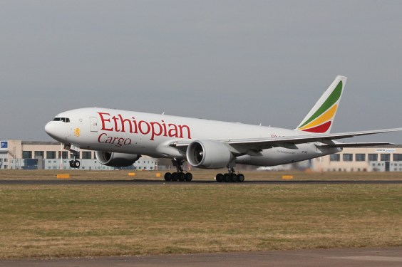 Ethiopian Cargo's new transpacific route takes off