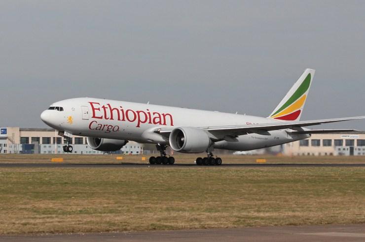 Ethiopian Cargo's B777-200F