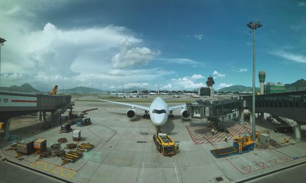HKIA's cargo volume up 14 percent in January