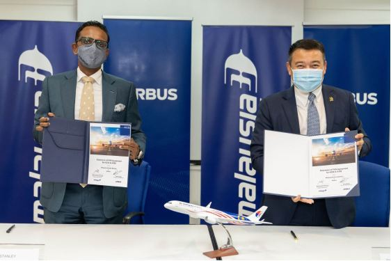 Airbus, Malaysia Airlines extend FHS components contract
