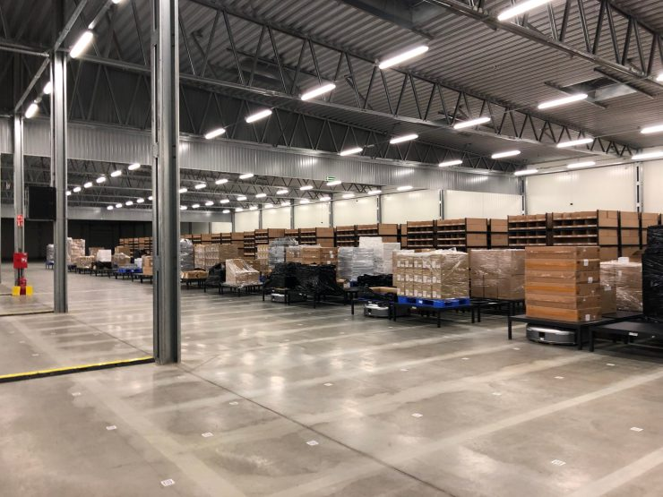 JD com : Operates Automated Warehouses in Europe
