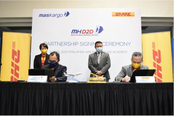 MASkargo, DHL Express team up on door-to-door delivery
