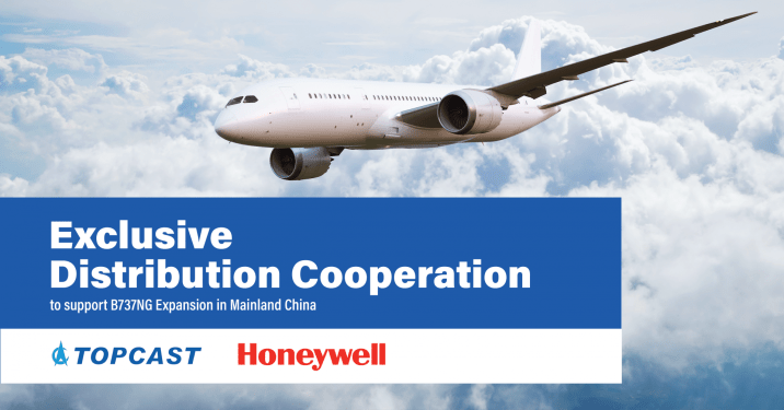 Topcast inks Honeywell deal to support B737NG in China