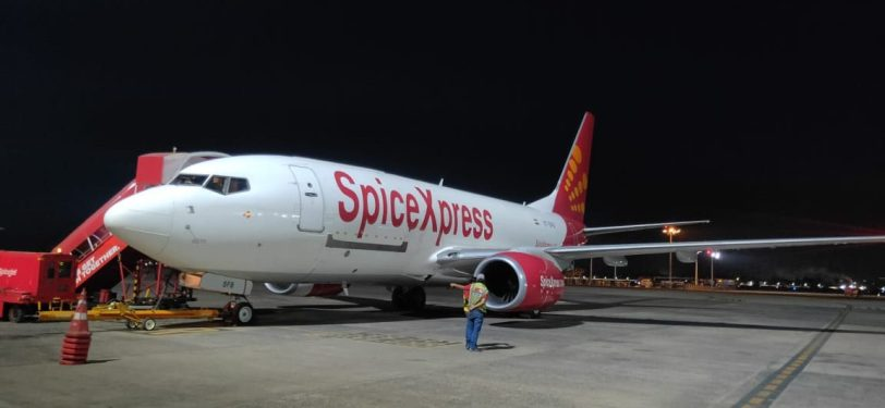SpiceJet airlifts oxygen concentrators from HKG to India