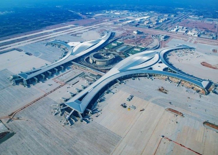 China's latest mega-airport is officially open