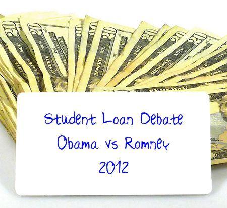 Student Loan Debate - Obama vs Romney