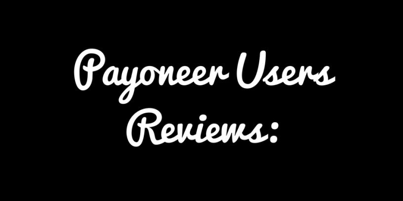 payoneer-users-reviews