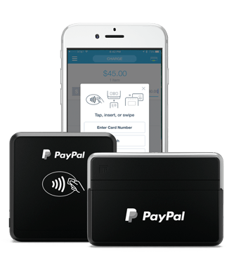 PayPal Here  Credit Card Readers   Mobile Point of Sale App Get paid with PayPal Here
