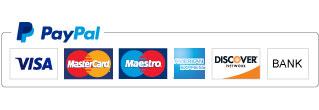 Znaki akceptacji PayPal