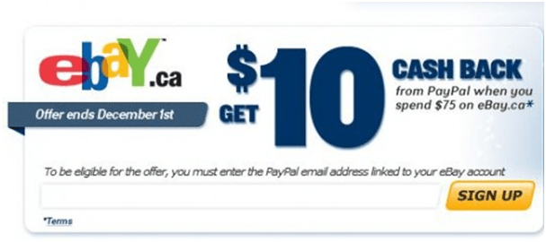 Ebay and PayPal Coupons