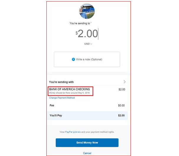 Echeck pending status at PayPal