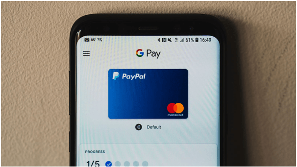 Google Pay and PayPal