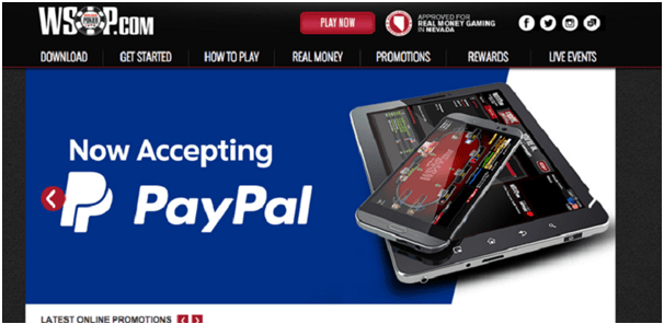 How to make a withdrawal by PayPal at poker sites in Canada
