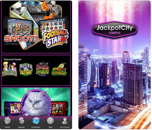 Jackpot City Casino App games