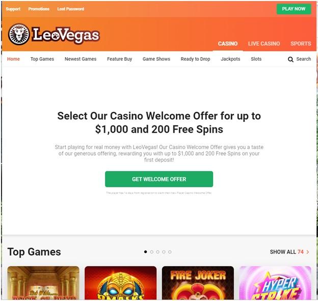 Leo Vegas Canada Much Better Deposits