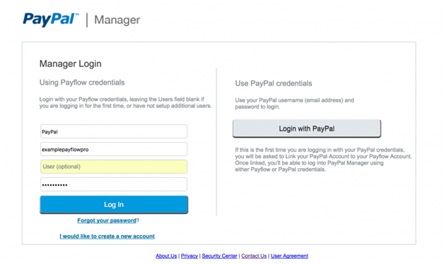 Paypal Manager