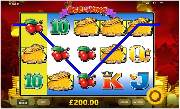 Reel King Mega game play