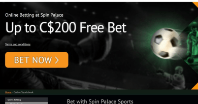 PayPal and Spin Sports Canada