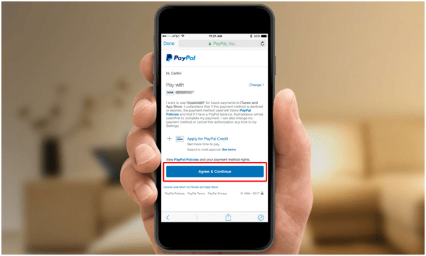 Setting Paypal for Apple payments