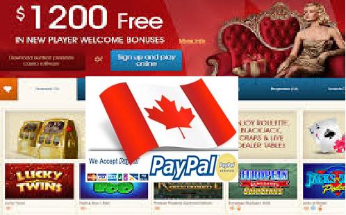 Paypal Online Canada RV Casino