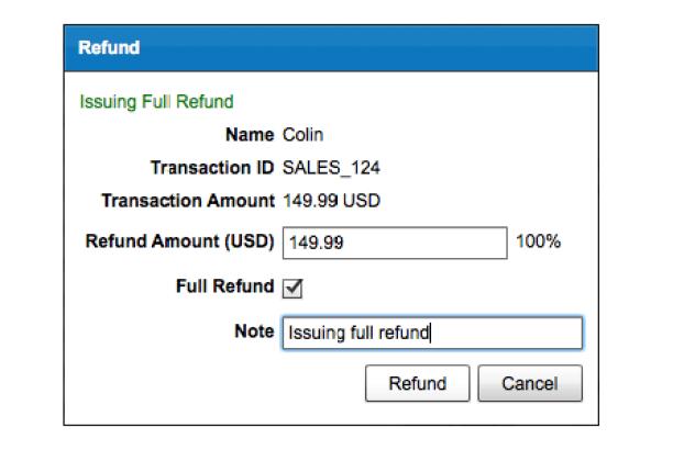 paypal refund status