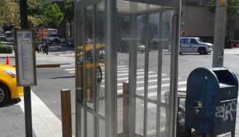 Creeper Phone Booth Scene From
