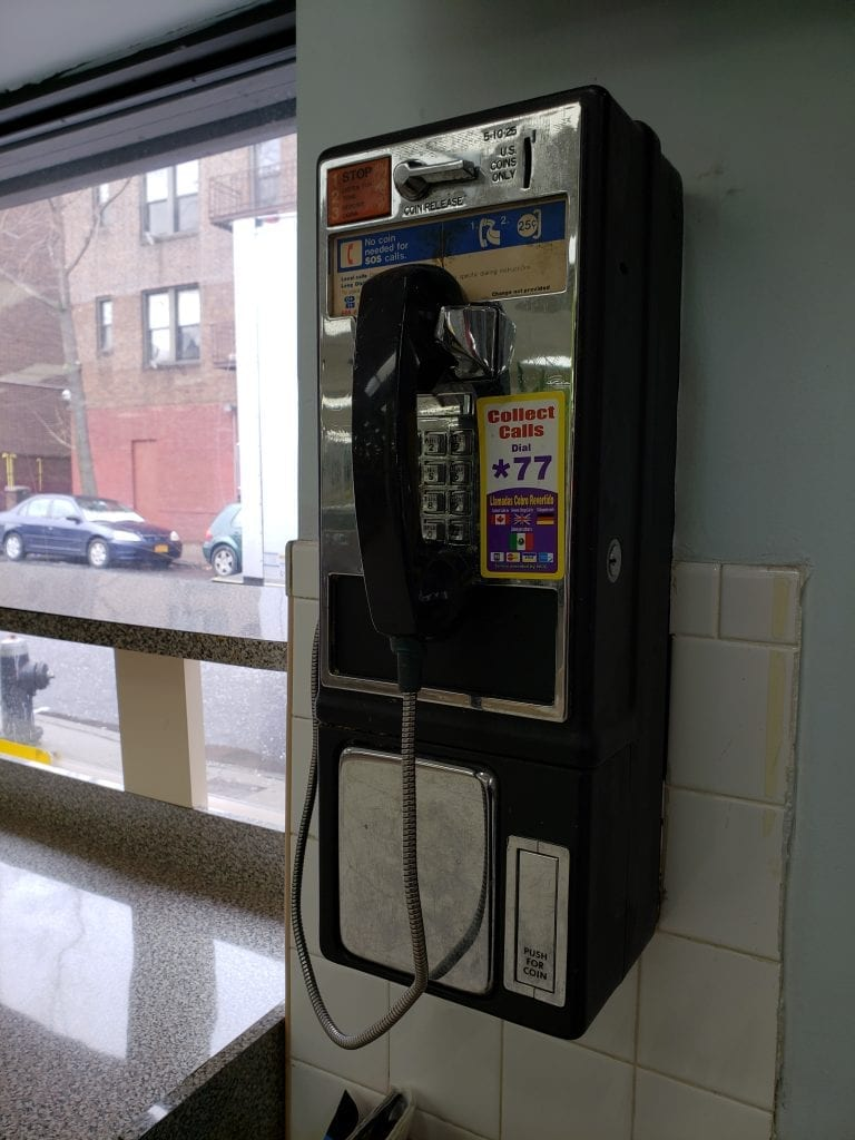Next Frontier For Finding Dead Payphones: Laundromats  - The