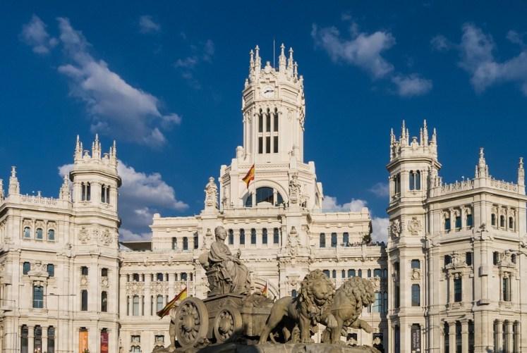 séjour scolaire ville Madrid