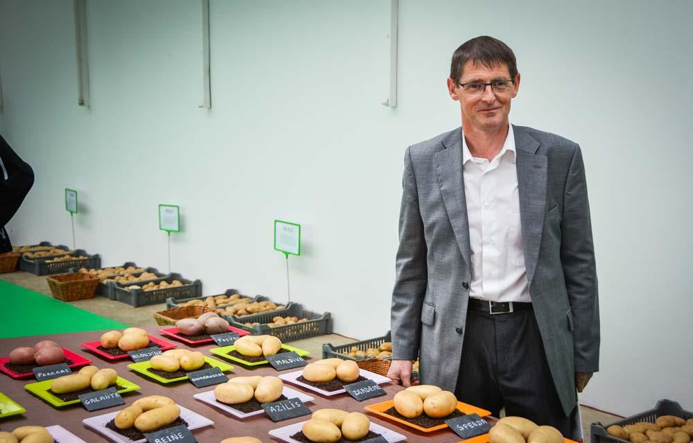 Jean-Yves Abgrall a pris la suite de la direction de Bretagne Plants, en succédant à Emmanuel Guillery depuis ce début d'année.