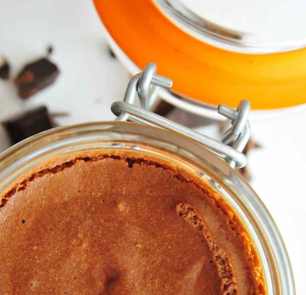 Dessert au piment d'Espelette - Mousse au Chocolat