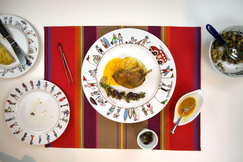confit-canard-cepes-beurre-pays-basque