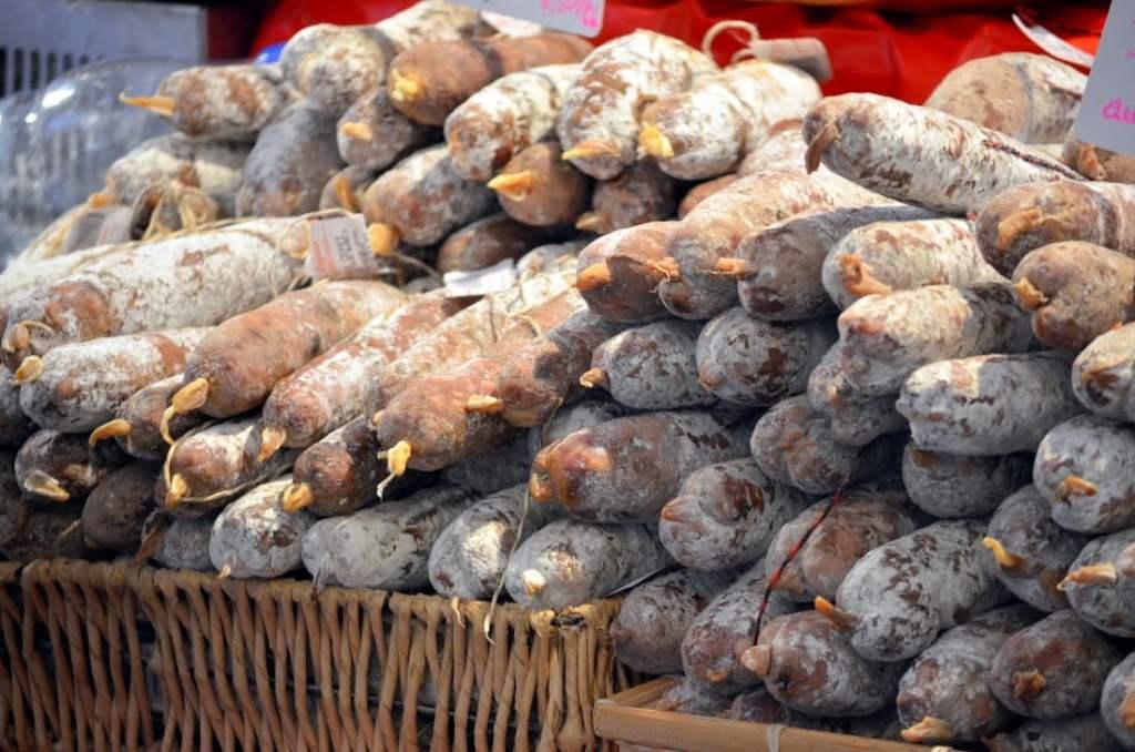 Foire au jambon-bayonne-paysbasque-saucisson