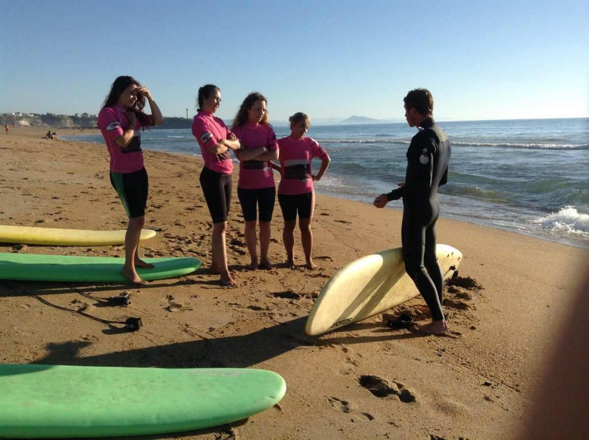 madrague surf school anglet