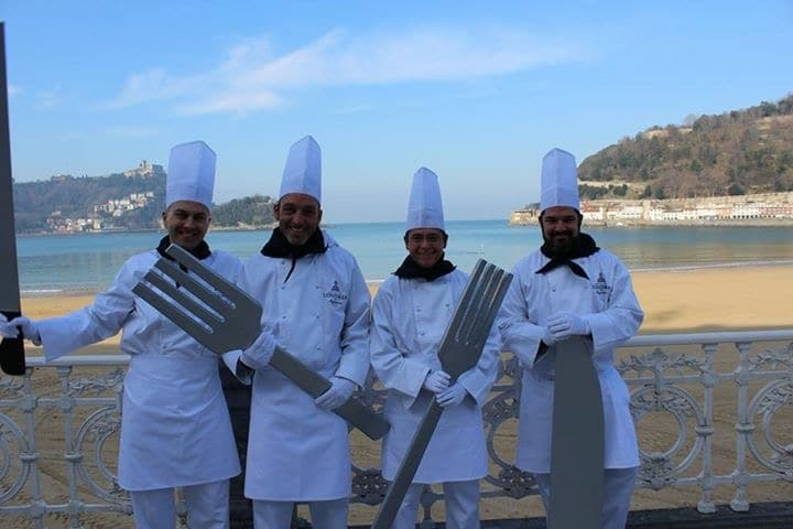 Tamborrada-Londres-Cuisinier-pays-basque