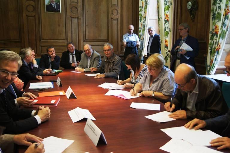 Signature du Contrat de Ruralité du Pays Chaunois du Pays Chaunois le 2 juillet 2017