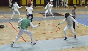 Jean en quart de finale à gauche
