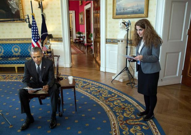 Image result for Sahar Nowrouzzadeh obama