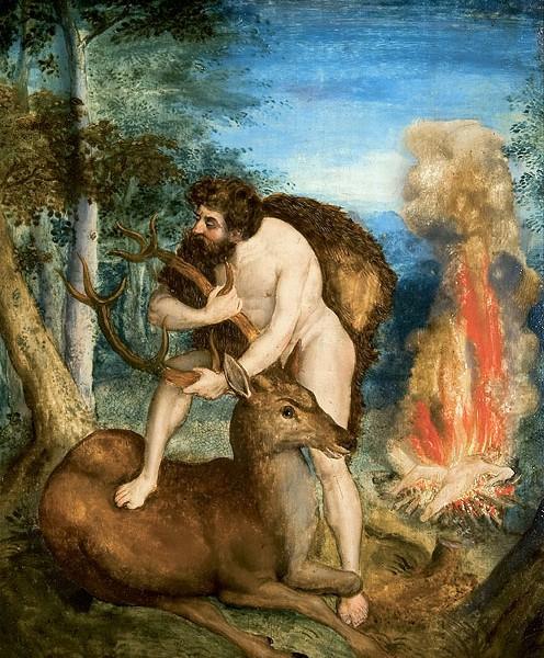 Tercer trabajo de Heracles: La cierva de Cerinia